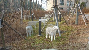 Metal sheep Sejong City