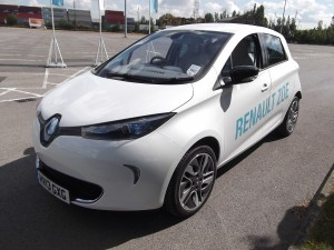 Renault Zoe EV - an electrifying experience? (Picture source: author's photograph)