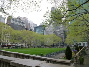 Bryant Park, New York City, USA,