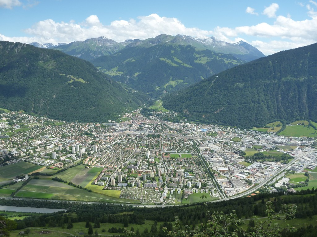 Figure 2. The city of Chur in the canton of Grison, Switzerland.